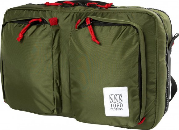 Topo Designs - Global Briefcase 3-Day - Umhängetasche Gr 23 l oliv