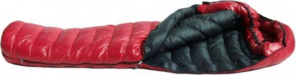 Western Mountaineering - Apache MF - Daunenschlafsack Gr 165 cm rot/schwarz