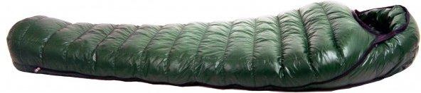 Western Mountaineering - Badger MF - Daunenschlafsack Gr 200 cm grün/schwarz