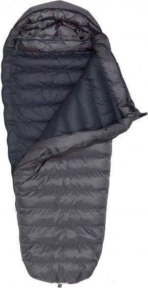 Western Mountaineering - Sequoia MF - Daunenschlafsack Gr 200 cm grau/schwarz