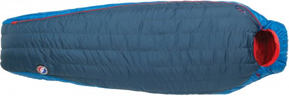 Big Agnes - Anvil Horn 30 (650 Downtek) - Daunenschlafsack Gr 198 cm - Long blau/rot