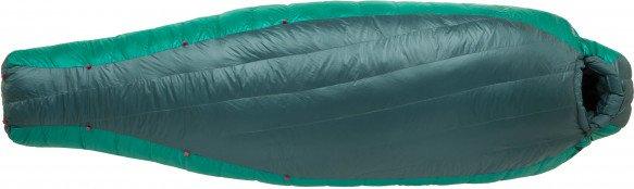 Big Agnes - Women's Hazel SL 15 (650 Downtek) - Daunenschlafsack Gr 165 cm - Petite teal /grün