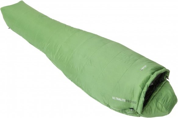 Vango - Ultralite Pro 100 - Kunstfaserschlafsack Gr 190 cm grün
