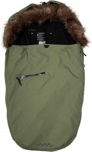 Isbjörn - Kid's Stroller Bag - Kinderschlafsack Gr 0-12 Months oliv