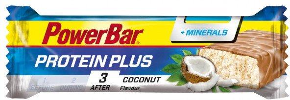 PowerBar - ProteinPlus + Minerals Coconut - Energieriegel Gr 35 g coconut