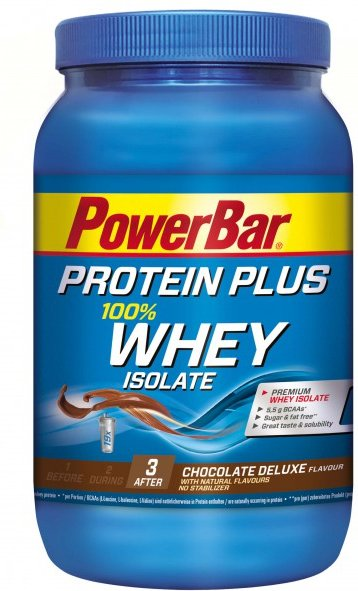 PowerBar - Whey Isolate 100% Chocolate Deluxe - Recoverygetränk Gr 570 g chocolate