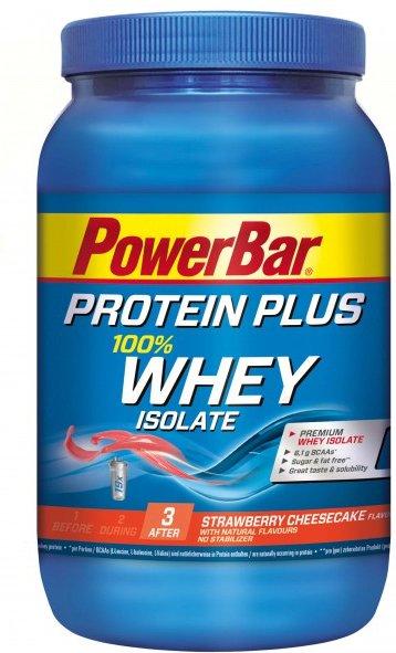 PowerBar - Whey Isolate 100% Strawberry Cheesecake - Recoverygetränk Gr 570 g strawberry