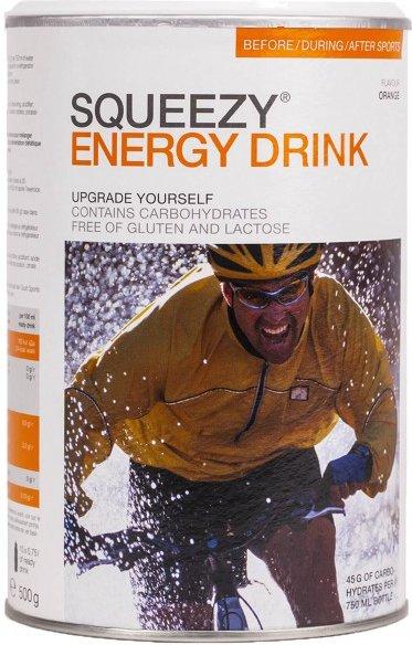 Squeezy - Energy Drink Orange - Energiegetränk Gr 500 g