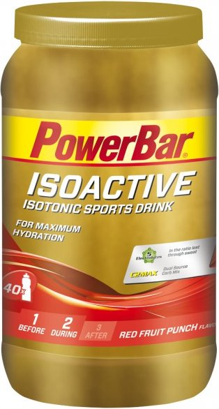 PowerBar - New Isoactive Red Fruit Punch - Energiegetränk Gr 1320 g rot
