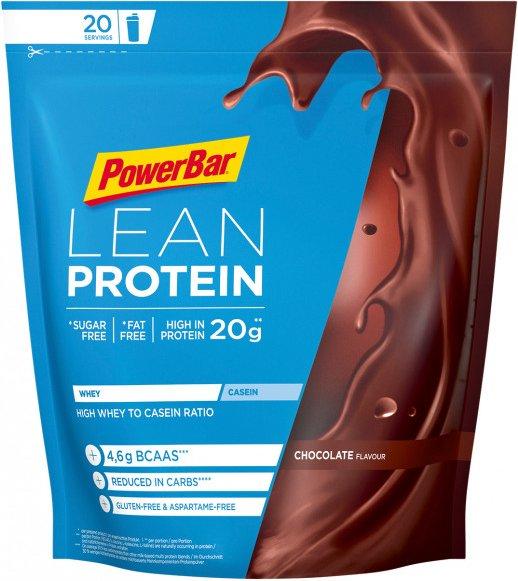 PowerBar - Lean Protein Chocolate - Recoverygetränk Gr 500 g chocolate