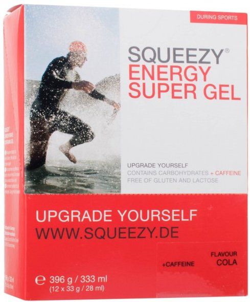 Squeezy - Energy Super Gel Cola+Koffein – Energiegel