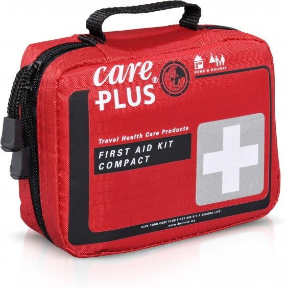 Care Plus - First Aid Kit Compact - Erste Hilfe Set Gr One Size rot