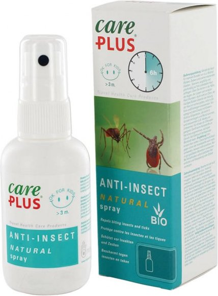 Care Plus - Anti-Insect Natural Spray - Insektenschutz Gr 60 ml