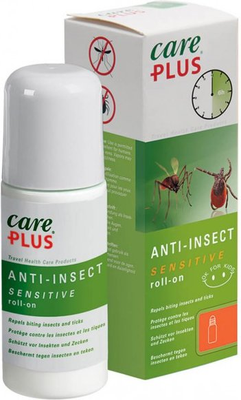 Care Plus - Anti-Insect Sensitive Roll-On - Insektenschutz Gr 50 ml