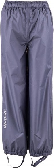 Minymo - Kid's Basic 23 -Rain pants -solid - Regenhose Gr 128 grau/blau