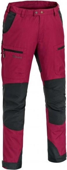 Pinewood - Caribou TC Kids Hose - Trekkinghose Gr 116 rot/schwarz/rosa