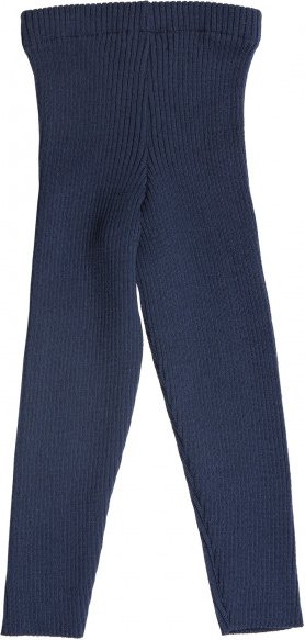 Reiff - Kid's Rippenlegging - Leggings Gr 74/80 blau/schwarz