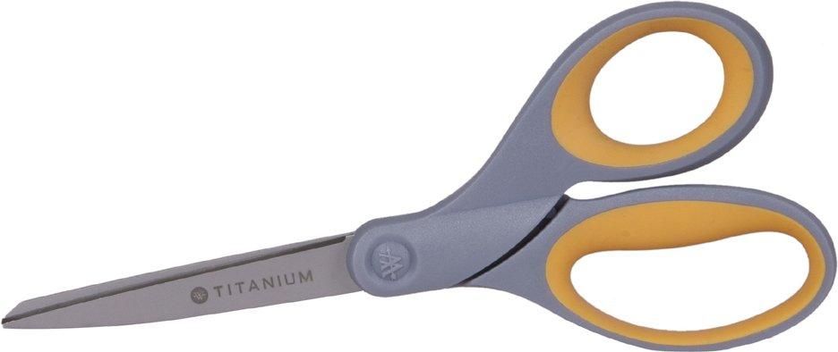 WESTCOTT Schere Titanium Super, abgerundet, gerade, 210 mm