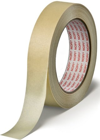 NOPI Allzweck-Abdeckband Papier, 25 mm x 50 m, beige