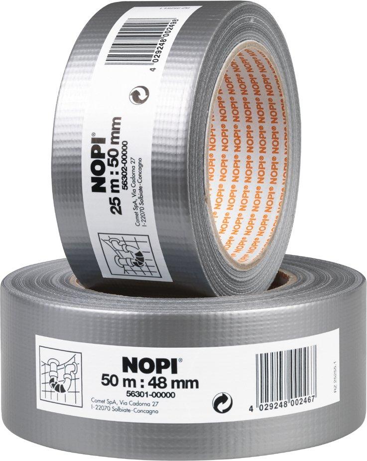 NOPI Reparaturband, 50 mm x 25 m, silber