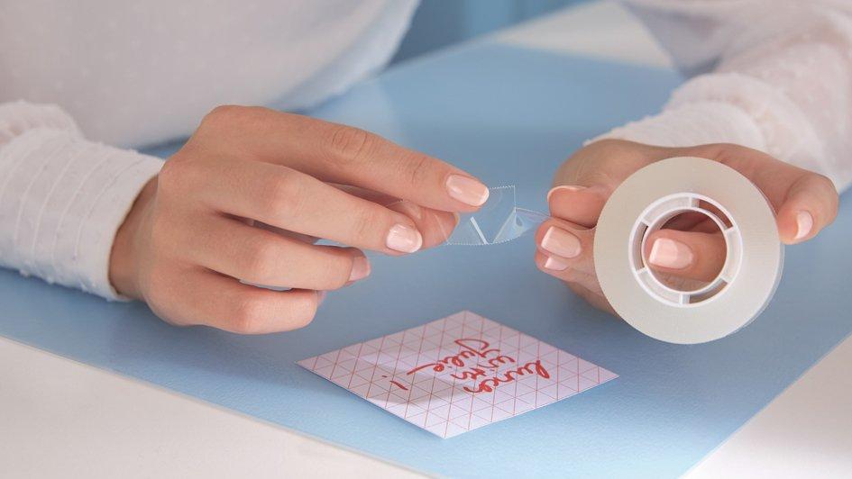 tesa Film, von Hand einreißbar, transparent, 19 mm x 25 m