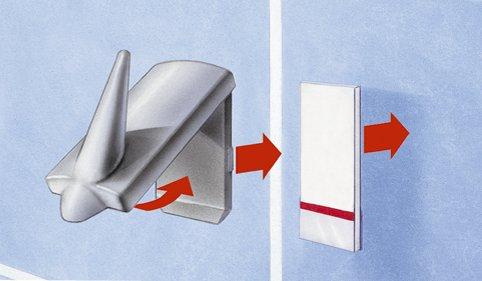 tesa Powerstrips LARGE, Haltekraft: max. 2,0 kg