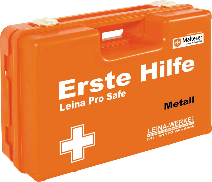 LEINA Erste-Hilfe-Koffer Pro Safe - Handwerk/Metall