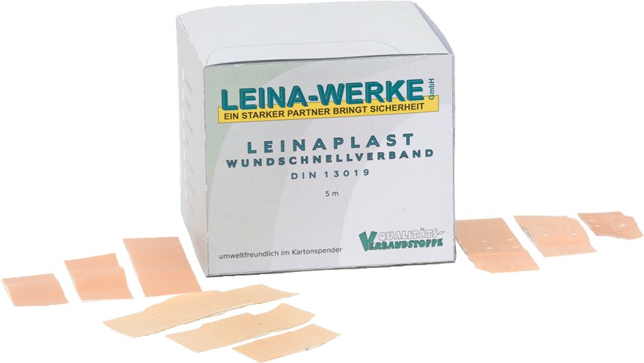 LEINAPLAST Pflaster 1 m x 6 cm, elastisch, hautfarben