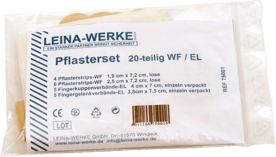LEINA Pflasterset 120-teilig, elastisch/wasserfest, hautfarb