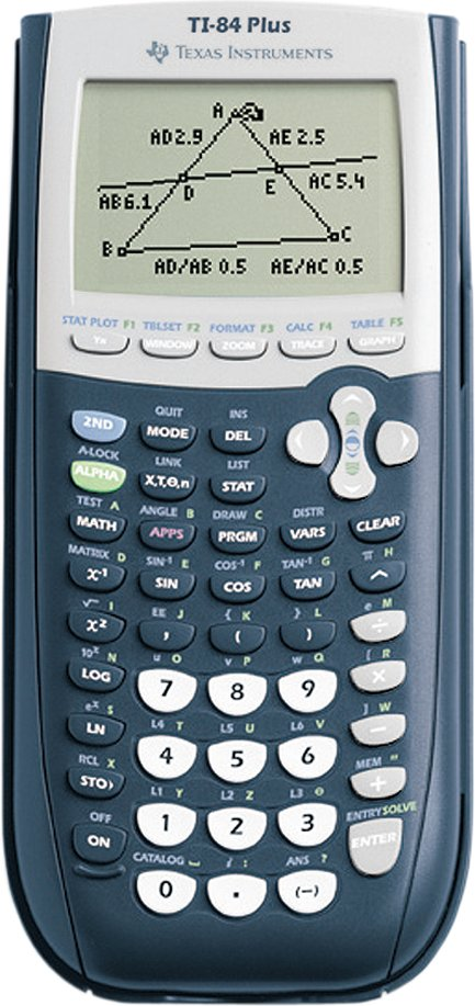 TEXAS INSTRUMENTS Grafikrechner TI-84 Plus