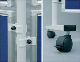FRANKEN Korktafel für Stellwandsystem ECO, 1.200 x 600 mm