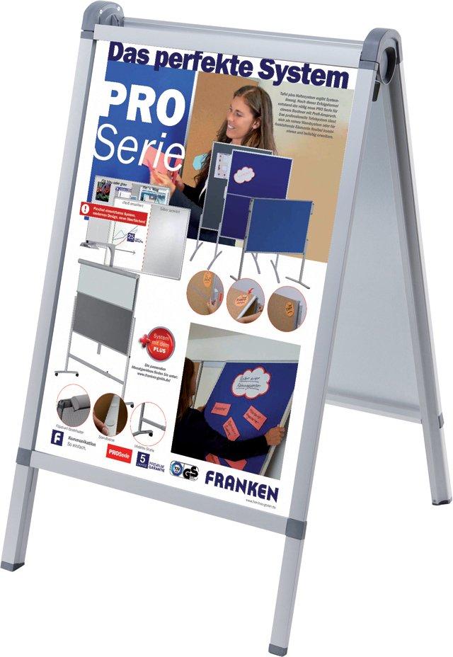 FRANKEN Plakatständer , Outdoor PRO, , DIN A1, 640 x 1.100 mm