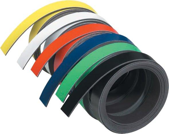 FRANKEN Magnetband, (L)1.000 x (T)5 x (H)1 mm, schwarz