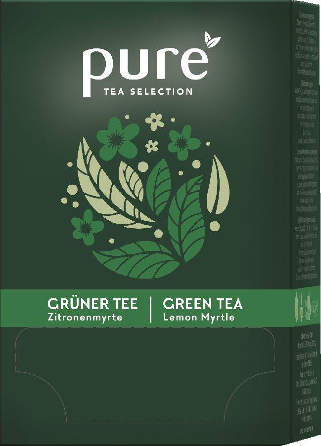 Tchibo Tee , PURE Tea Grüner Tee mit Lemonmyrte,