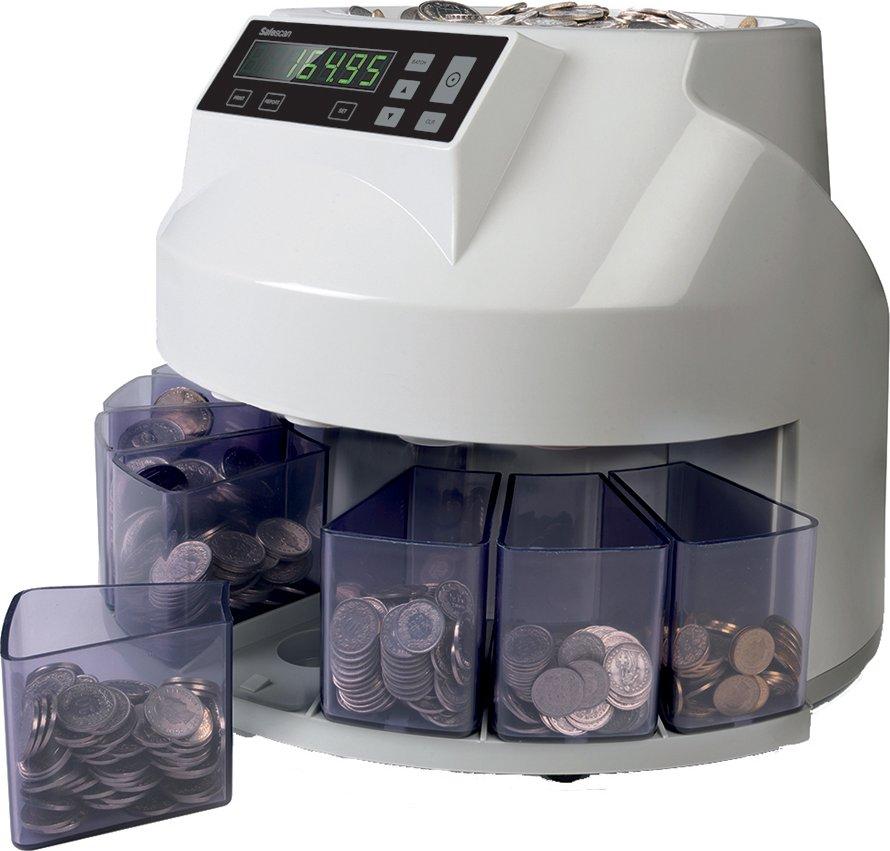 Safescan Euro-Münzzählgerät , Safescan 1250, , grau