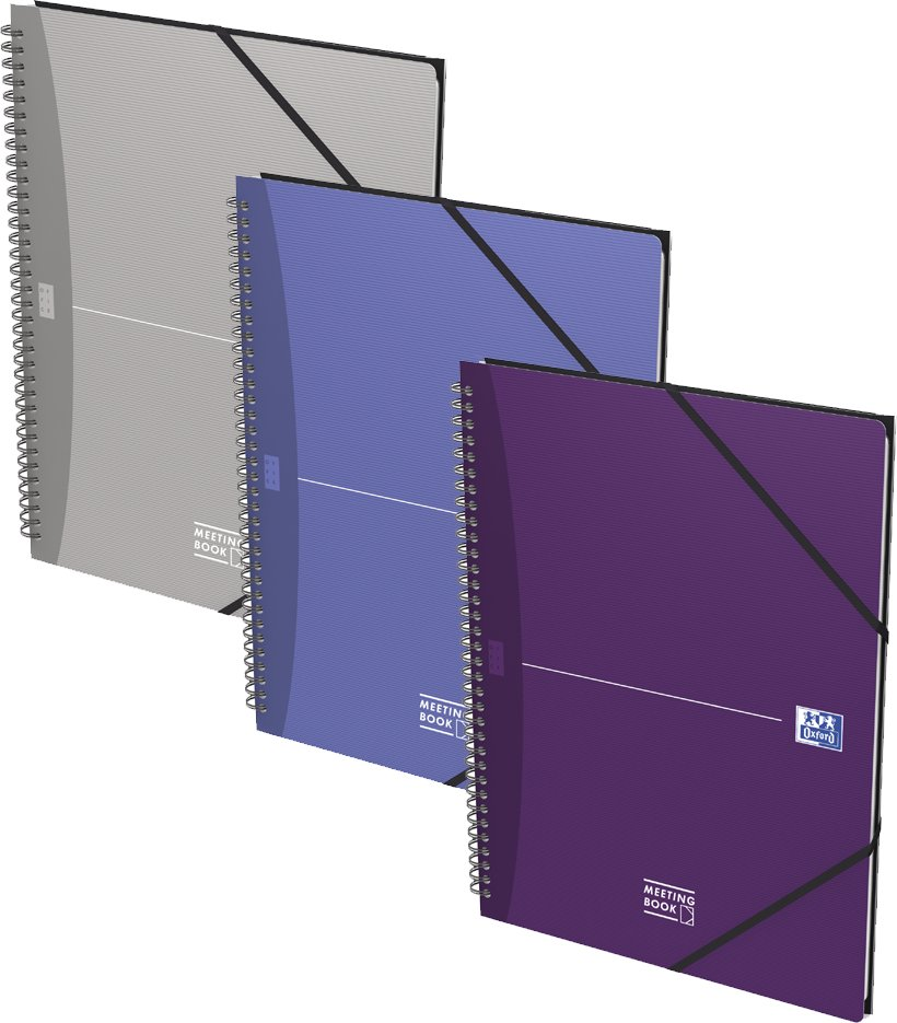 Oxford Collegeblock Office , MEETINGBOOK, , kariert, DIN A4+