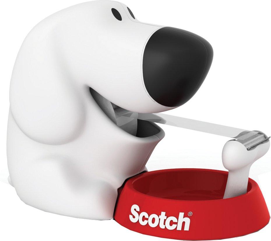 3M Scotch Tischabroller , Dog, , in Hundeform, bestückt