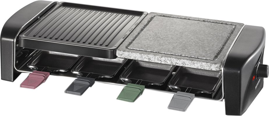 SEVERIN Raclette-Grill RG 9645, mit Naturgrillstein