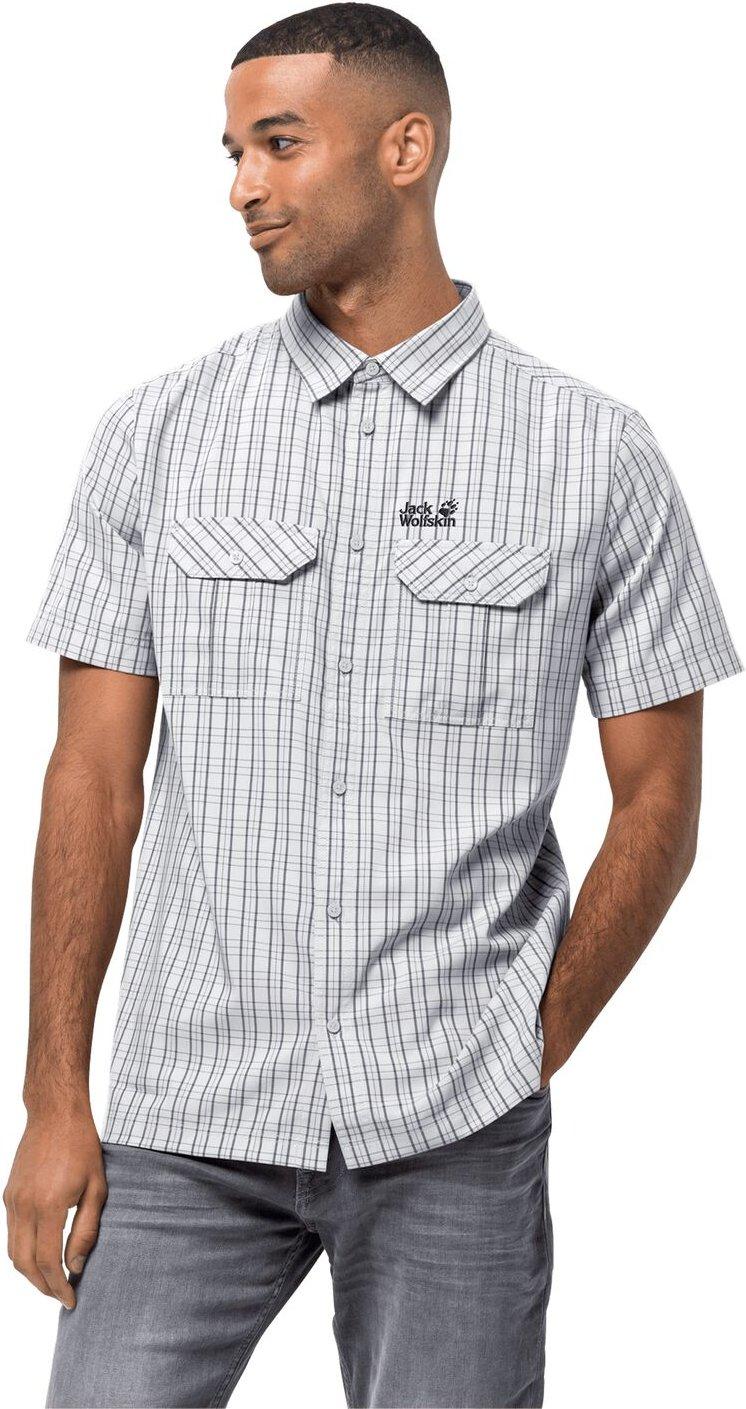 Jack Wolfskin Funktions-Hemd Männer Thompson Shirt Men S weiß