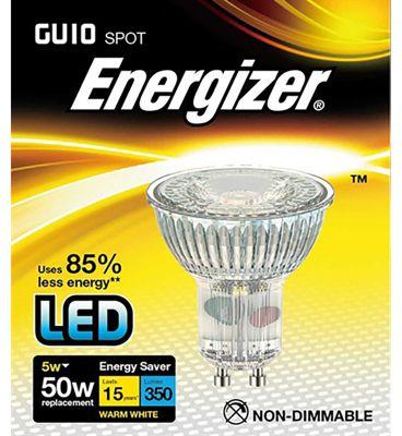 Energizer 5w 36deg LED GU10 4000K   S9409