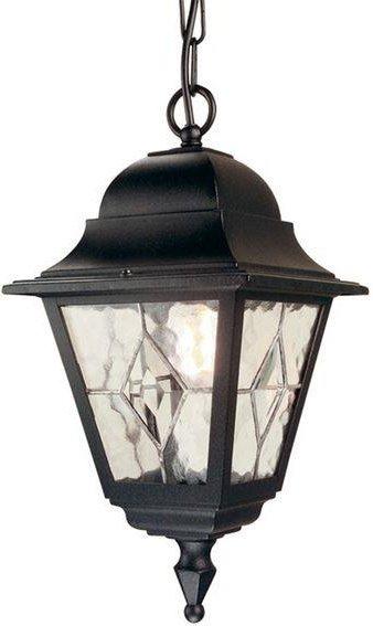 Elstead NR9 Norfolk period black exterior chain lantern  IP43