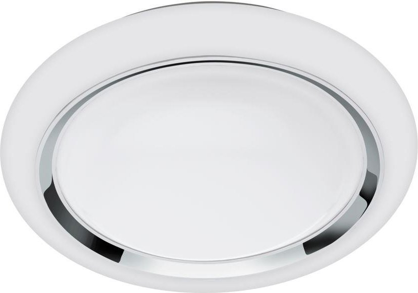Eglo 96686 Capasso C LED Ceiling And Wall Light In White And Chrome