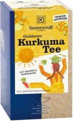 Goldener Kurkuma-Tee mit Ingwer & Kardamom im Beutel