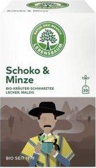 Kräuter-Schwarztee Schoko & Minze im Beutel (Auslaufartikel)