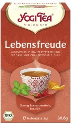 Lebensfreude-Tee im Beutel