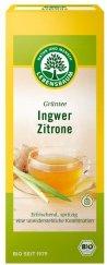 Grüntee mit Ingwer & Zitrone im Beutel