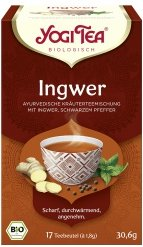 Ingwer-Tee im Beutel
