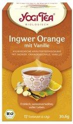 Ingwer-Orangen-Tee mit Vanille im Beutel