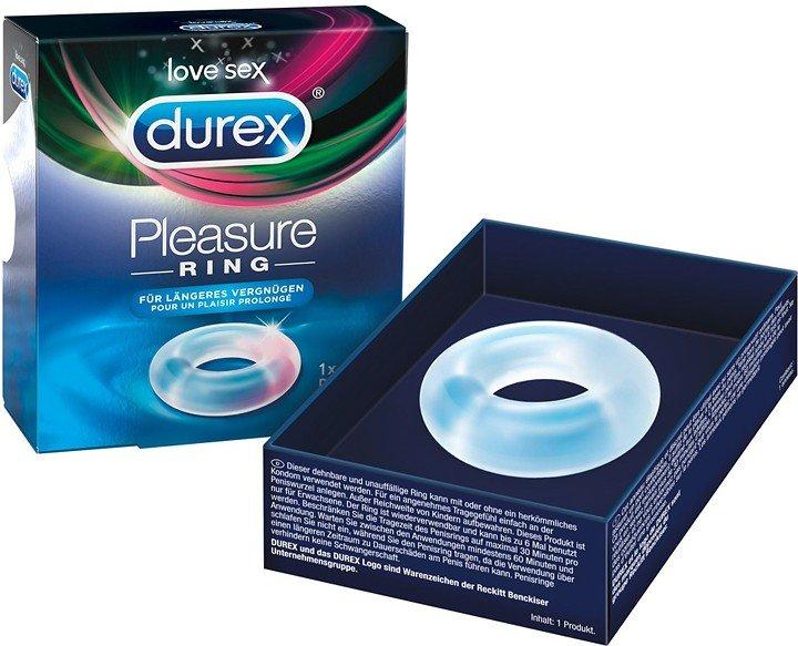 Durex Pleasure Ring: Penisring, transparent
