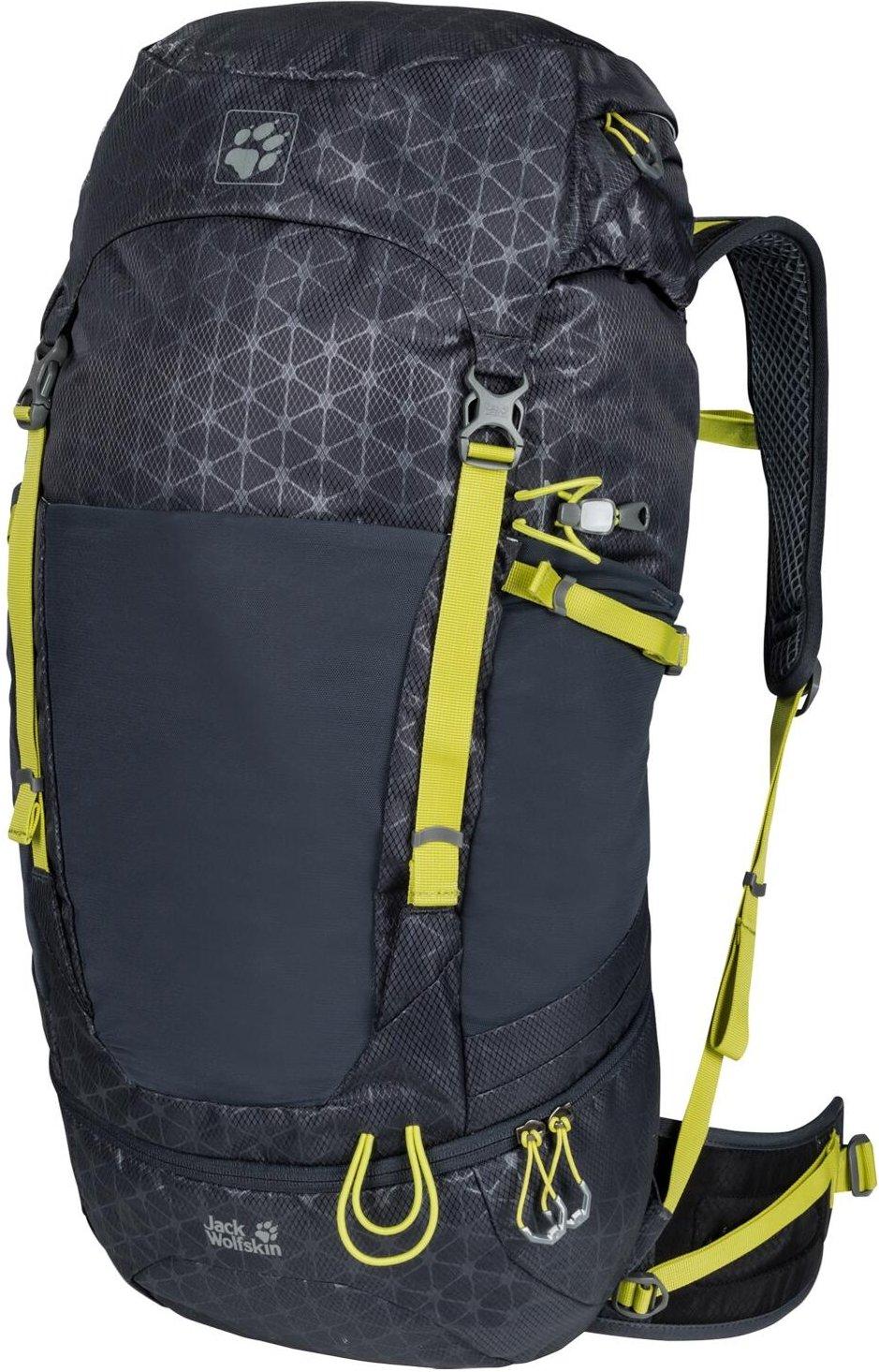 Jack Wolfskin Kalari Trail 42 Pack (Farbe: 8085 ebony grid)